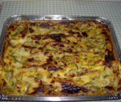 Lasagne alle zucchine e fiori