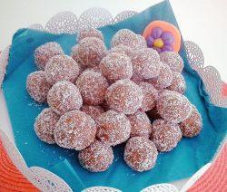Palline di cocco e cioccolato