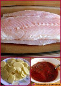 Pesce persico collage
