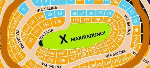 Mappa MaxiRaduno